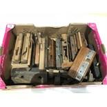 A Box of wooden tools