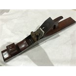 A steel jointer with mahogany infill and handle G
