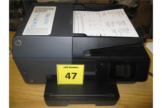 HP OFFICEJET PRO 6830  (PRINT-SCAN-COPY-FAX-WEB) WITH TEST PRINT