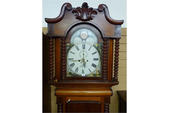 Dating longcase clock dials roman