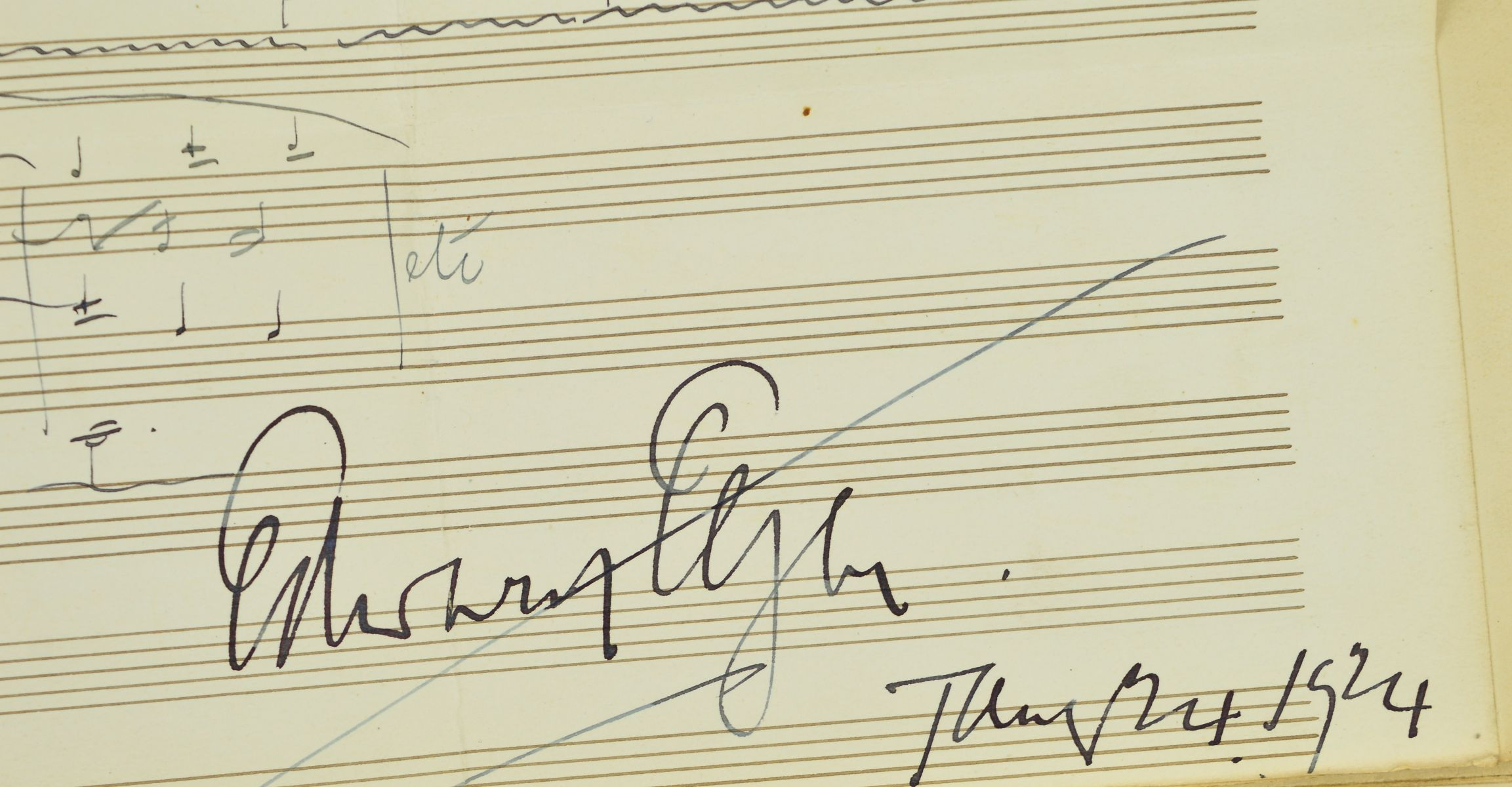 AN AUTOGRAPH COLLECTED IN AROUND 1923 BY MR HERBERT TABB AND MRS LYDIA TABB WORKING ON BEHALF OF - Image 3 of 7