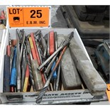 LOT/ DRILLS, REAMERS AND CUTTERS