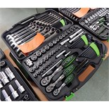 """FALCON 1/2"""", 3/8"""", 1/4"""" SOCKET SET WITH WRENCHES"""