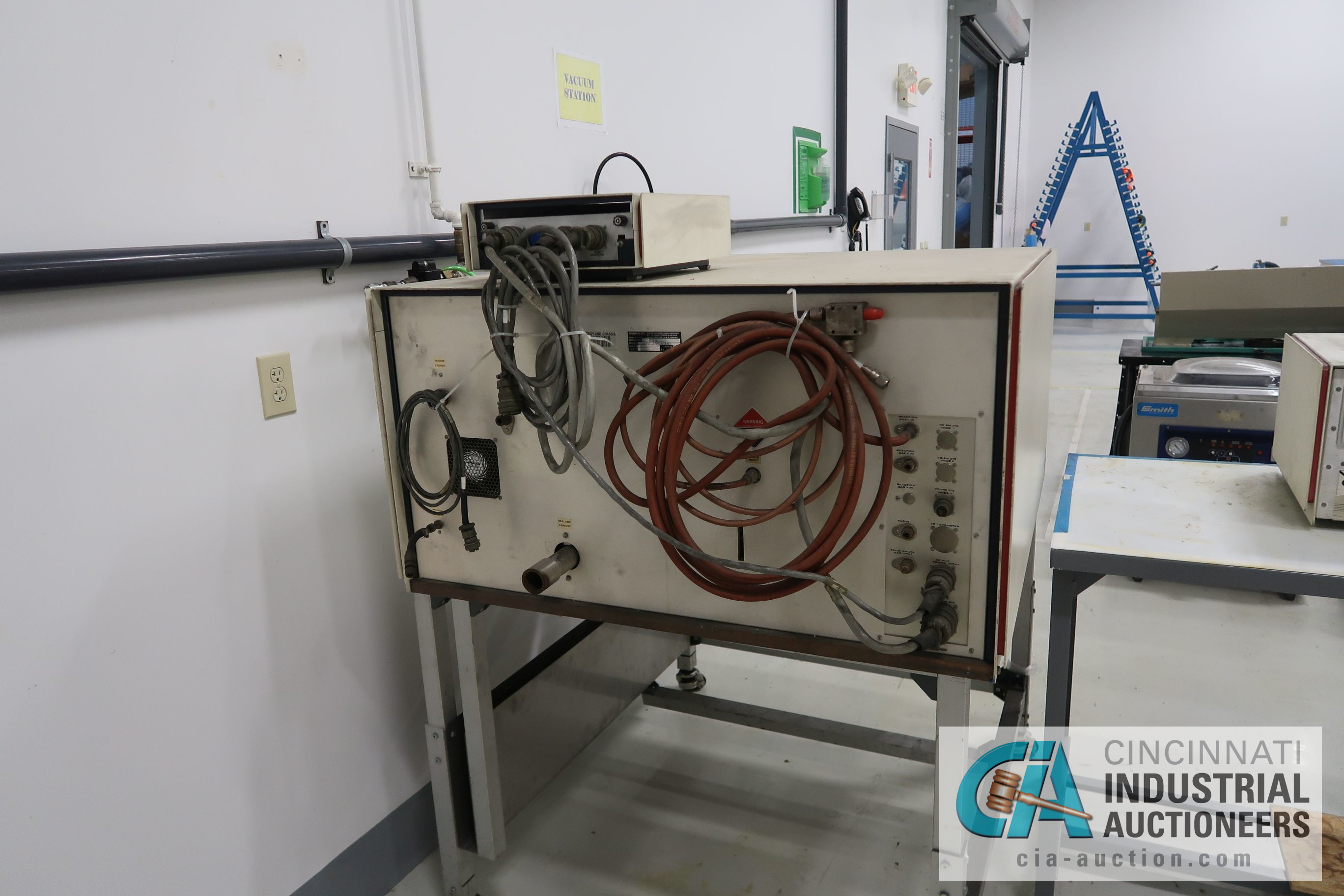 "14"" X 15"" X 2' DEP BRANSON MODEL 415012 PLASTIC PLASMA ADHESION SURFACE TREATER; S/N M961820, WITH - Image 5 of 6"
