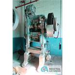"""**100 TON BLISS NO. 6 SSSC PRESS; AIR CLUTCH, AIR BRAKE, 24"""" X 30"""" BED ** LOCATED NEXT DOOR TO"""