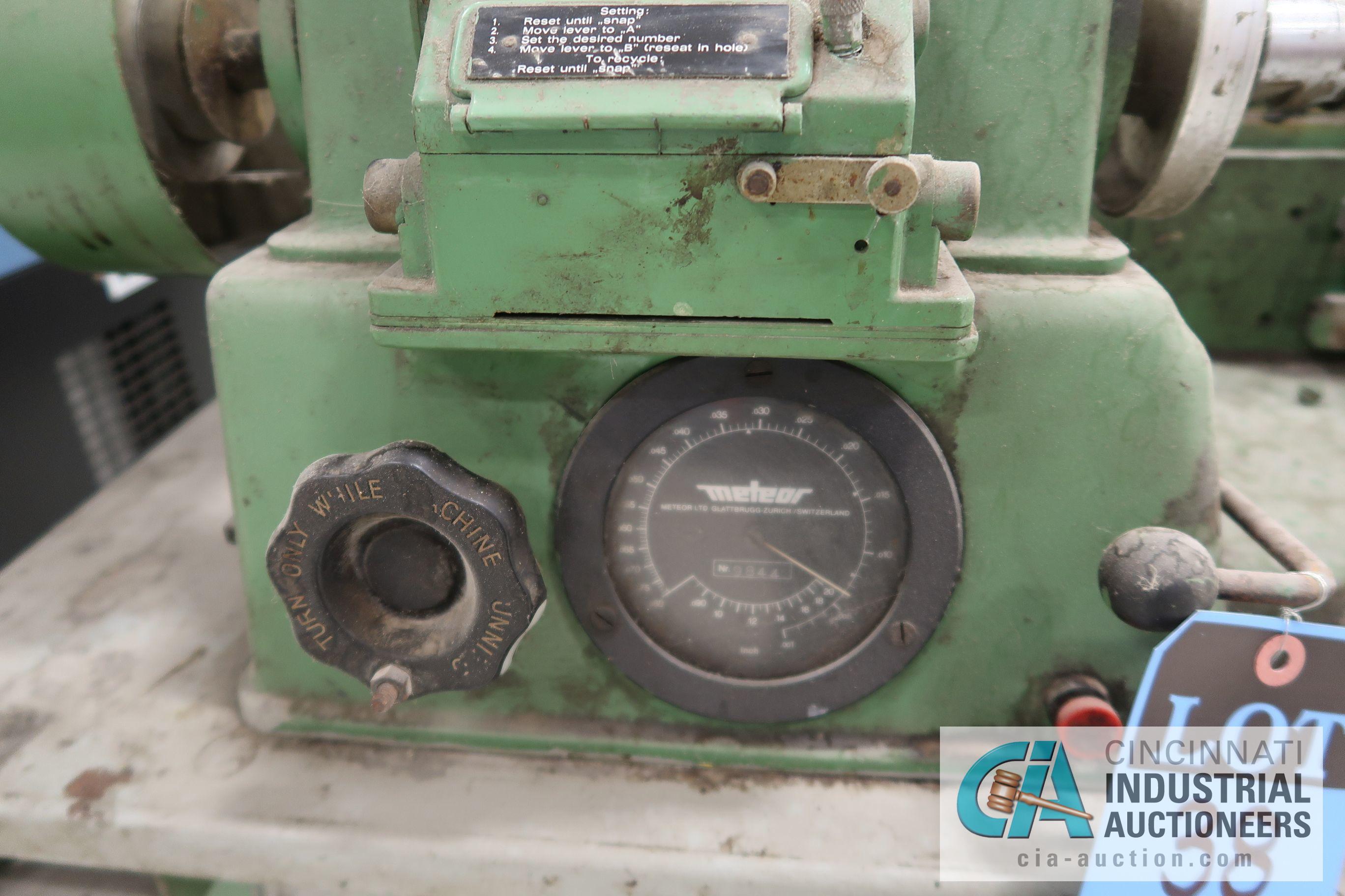METEOR TYPE ME 301 BOBBIN WINDING MACHINE; S/N 9844 - Image 2 of 5