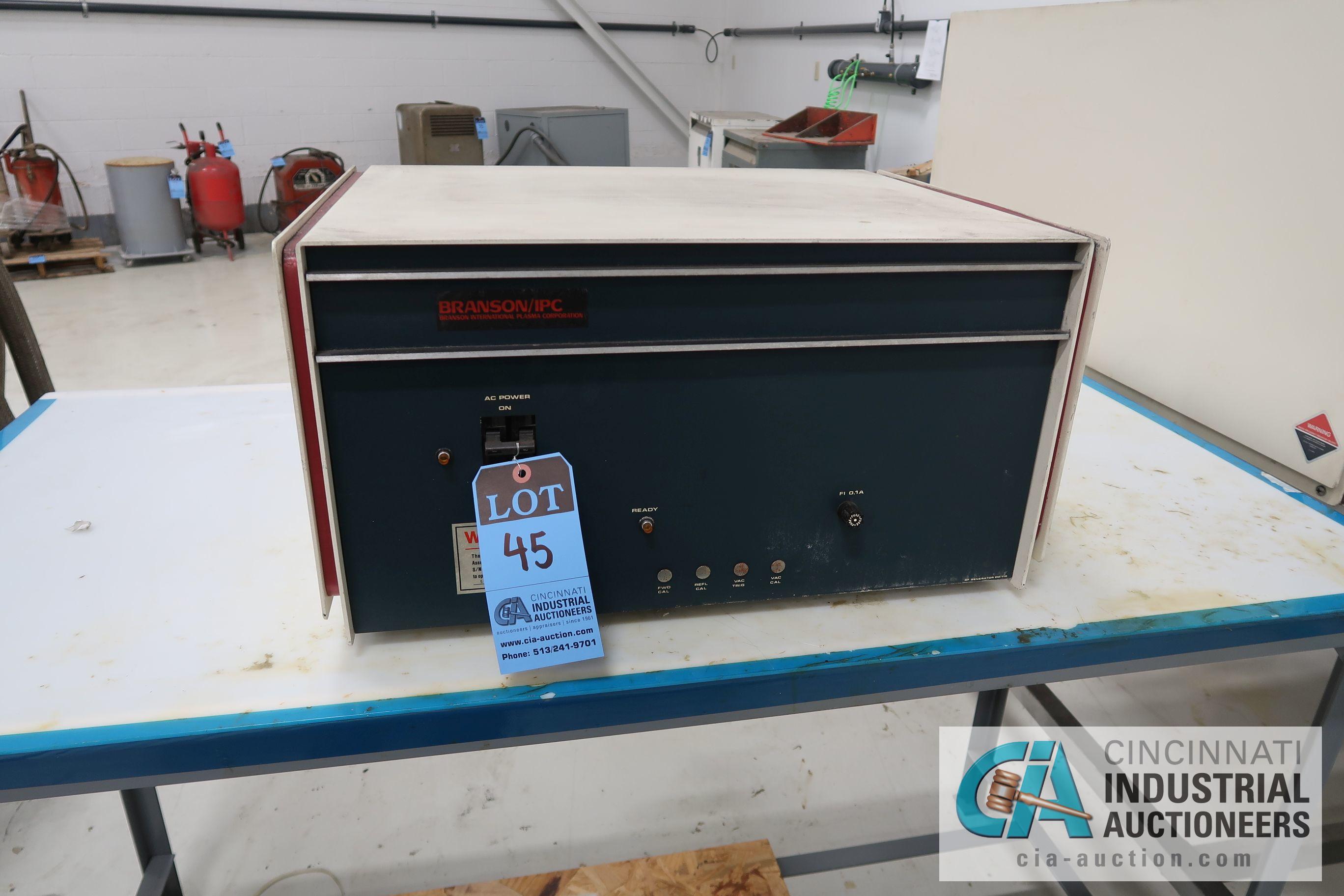 BRANSON PM112 GENERATOR; S/N 10004882