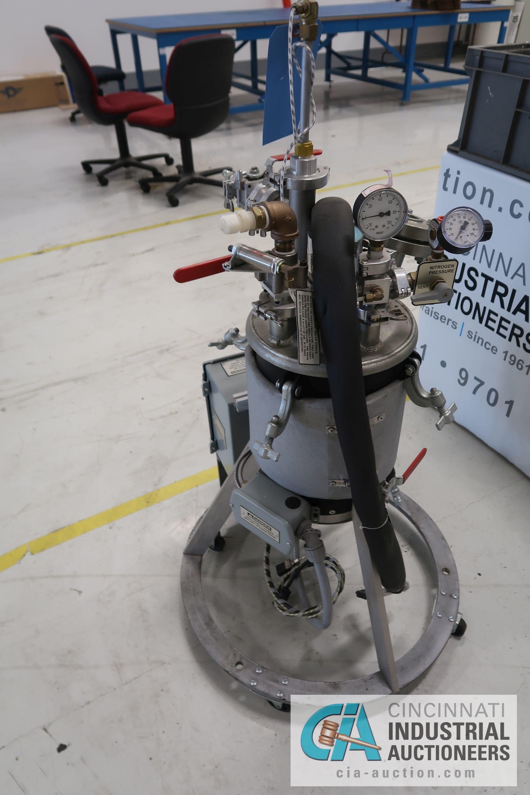 2.5 GALLON APT MODEL NO. 4500 RTM UNIT; S/N T-3110 (1/5/09) - Image 3 of 5