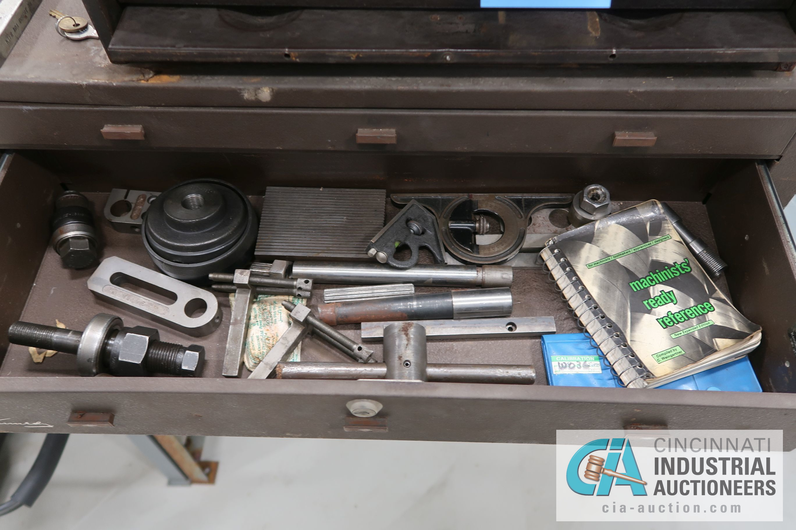 KENNEDY MACHINIST TOOL CHESTS WITH MISCELLANEOUS - Image 7 of 7