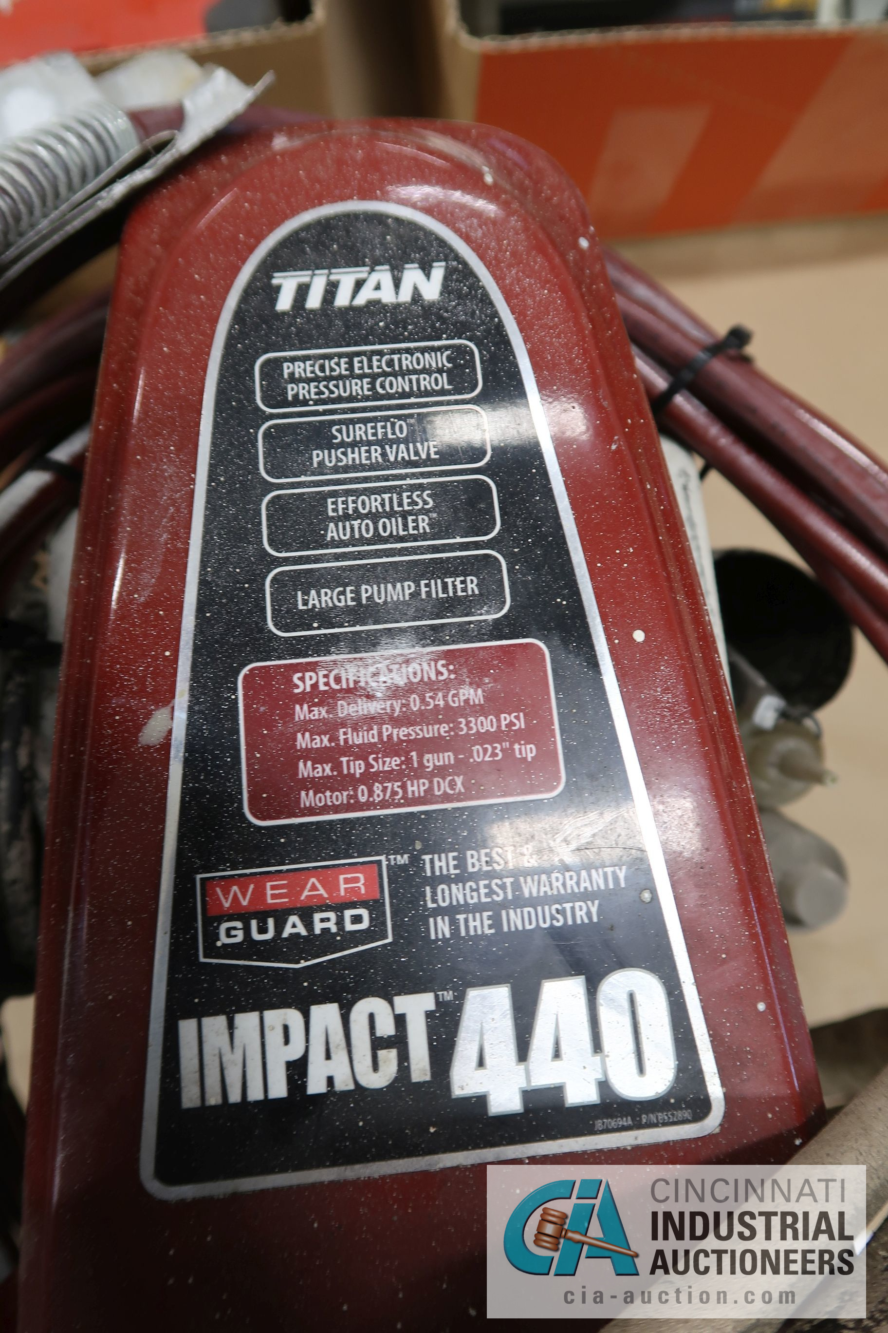 TITAN IMPACT 440 ELECTRIC AIRLESS PAINT POINT - Image 3 of 3