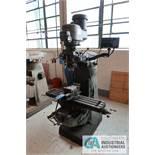 2 HP BRIDGEPORT MILLING MACHINE; S/N 23537, SONY DRO