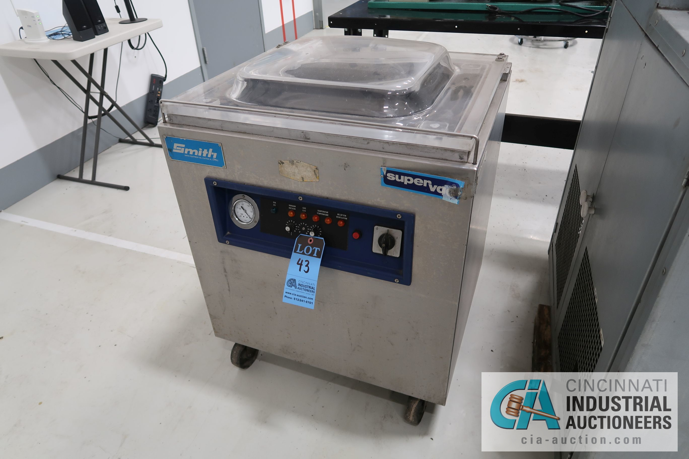SMITH SUPER VAC CHAMBER PACKAGING MACHINE - PORTABLE