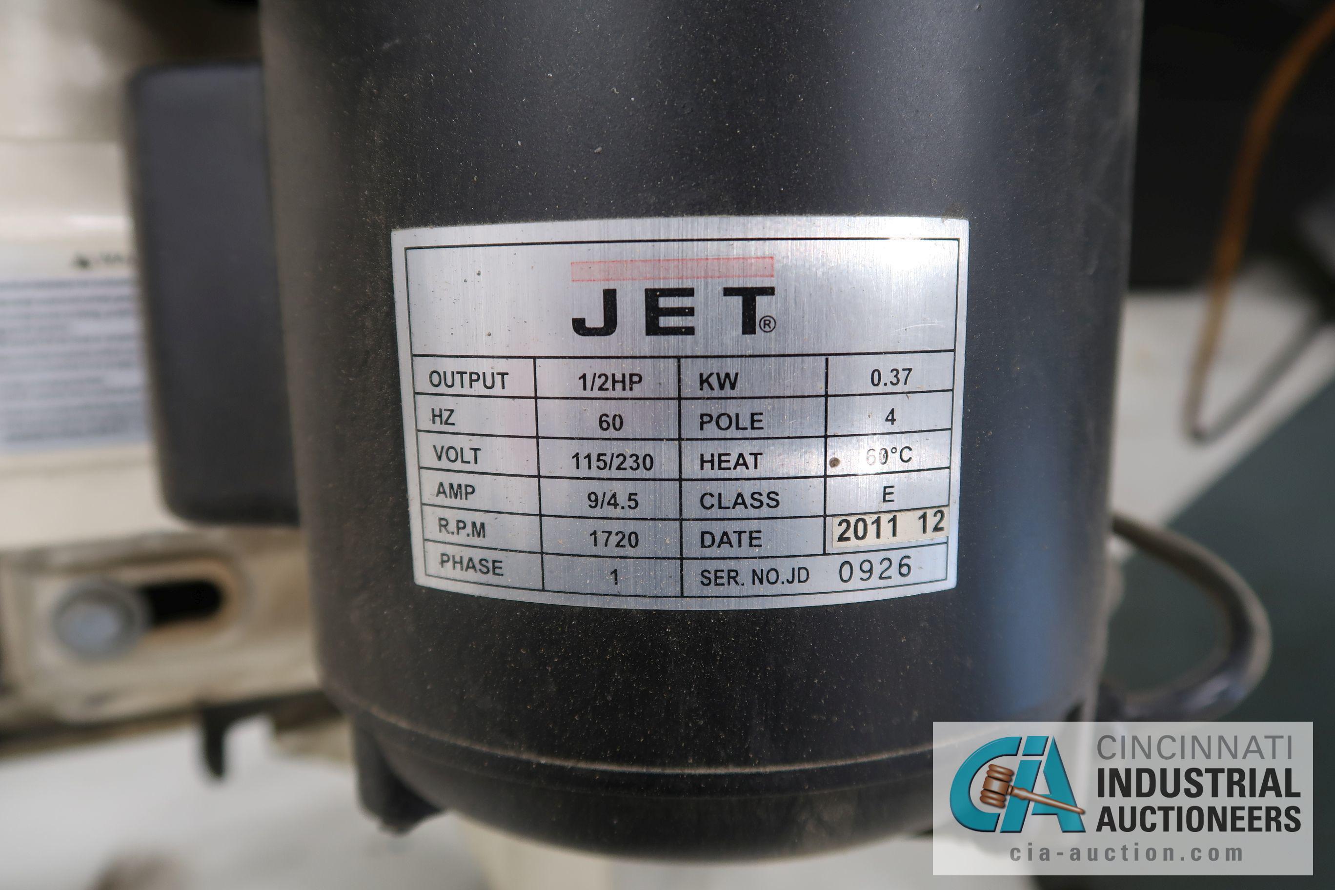 JET MODEL HVBS-56M HORIZONTAL / VERTICAL BAND SAW; S/N 120136125, 115 VOLT (2011) - Image 4 of 4