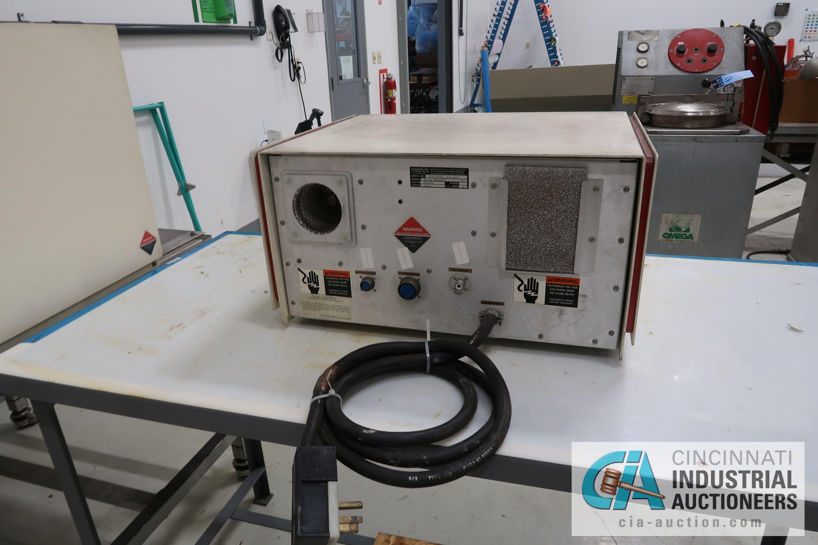 BRANSON PM112 GENERATOR; S/N 10004882 - Image 3 of 4