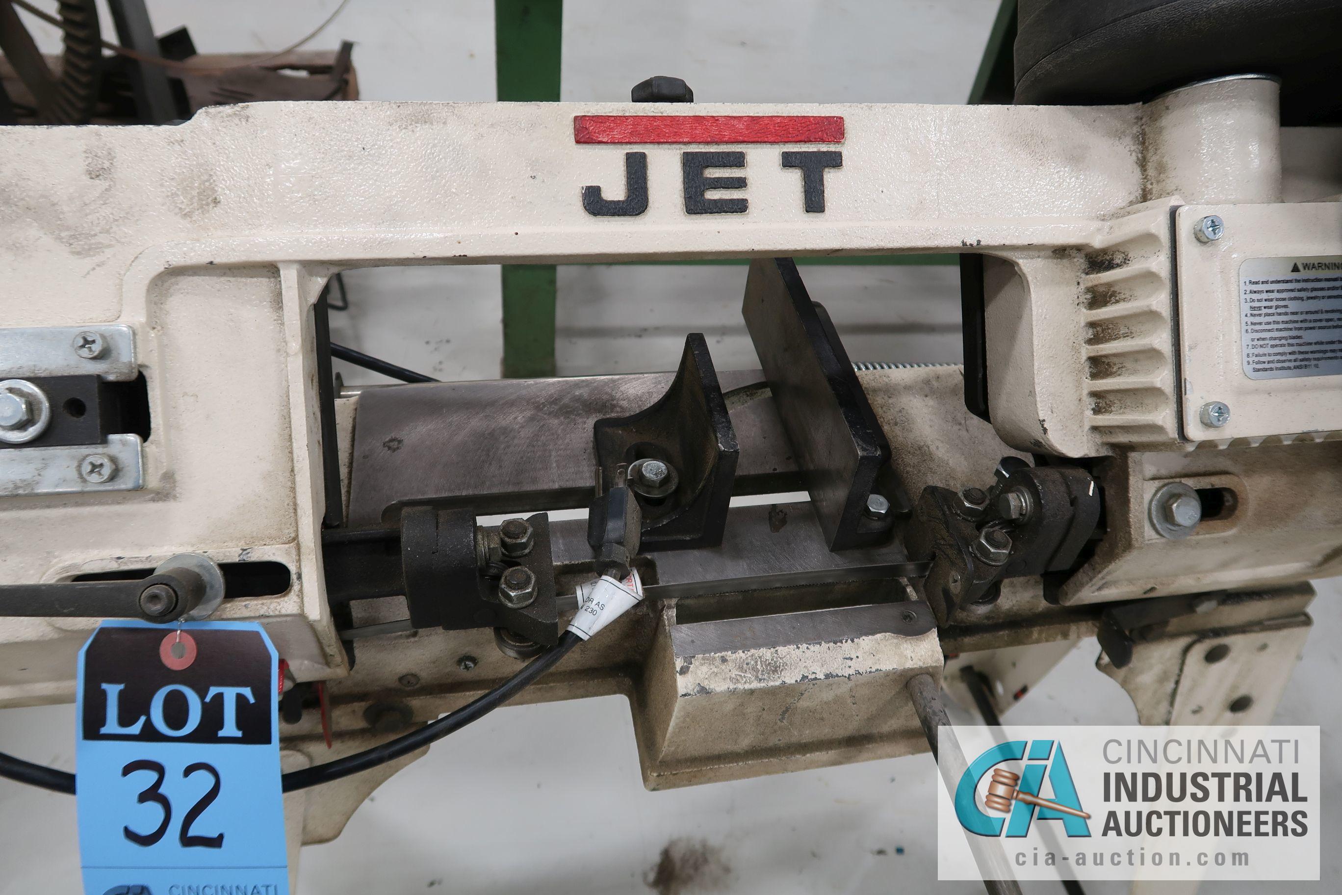 JET MODEL HVBS-56M HORIZONTAL / VERTICAL BAND SAW; S/N 120136125, 115 VOLT (2011) - Image 3 of 4