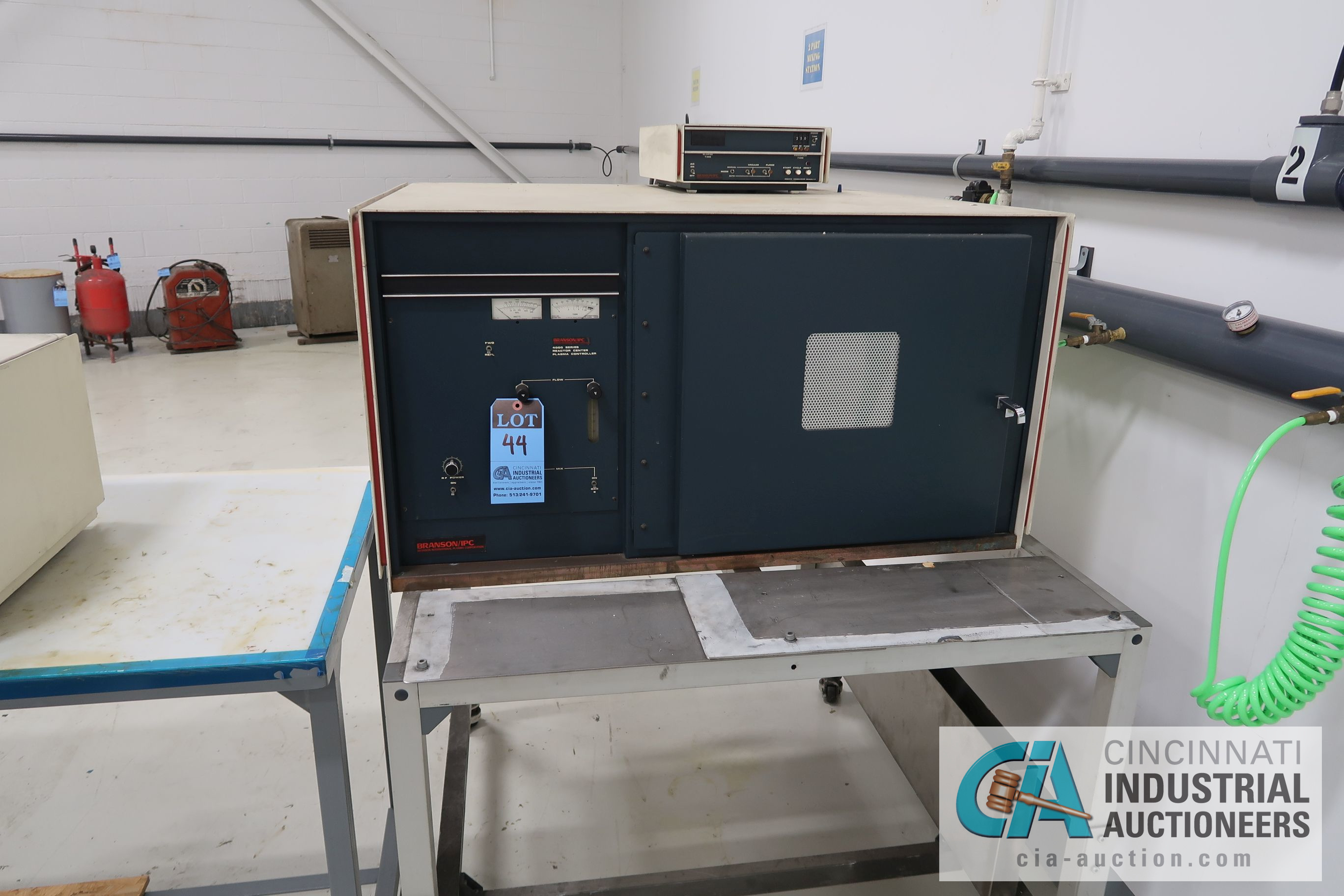 "14"" X 15"" X 2' DEP BRANSON MODEL 415012 PLASTIC PLASMA ADHESION SURFACE TREATER; S/N M961820, WITH"