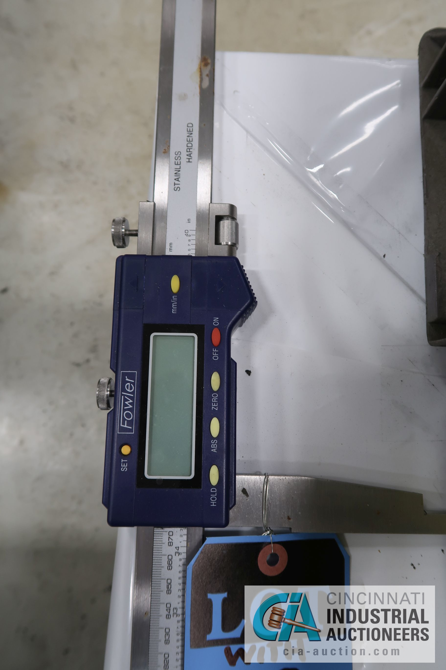 """(LOT) MISCELLANEOUS INSPECTION EQUIPMENT WITH 40"""" FOWLER DIGITAL CALIPER - Image 3 of 3"""