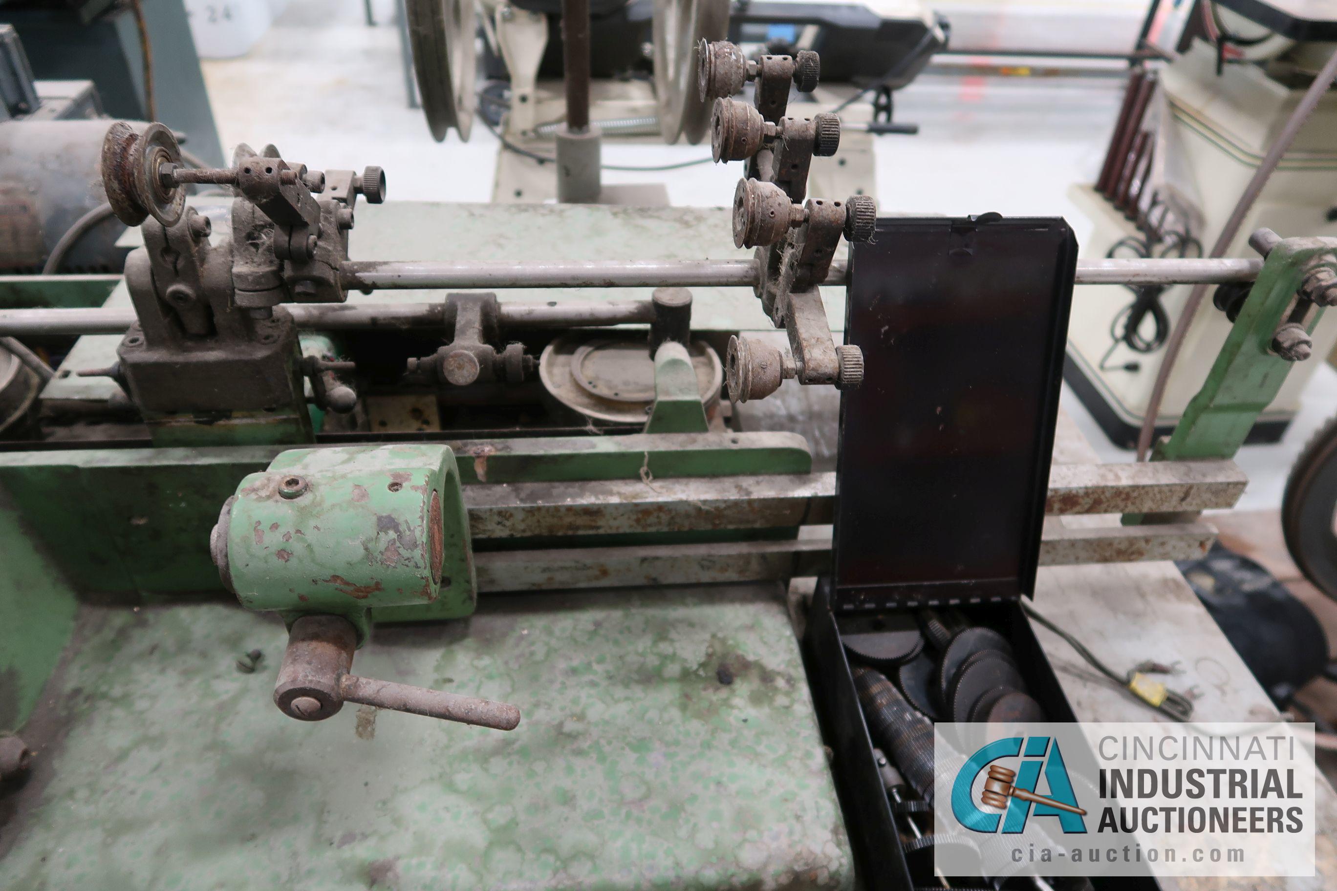 METEOR TYPE ME 301 BOBBIN WINDING MACHINE; S/N 9844 - Image 5 of 5