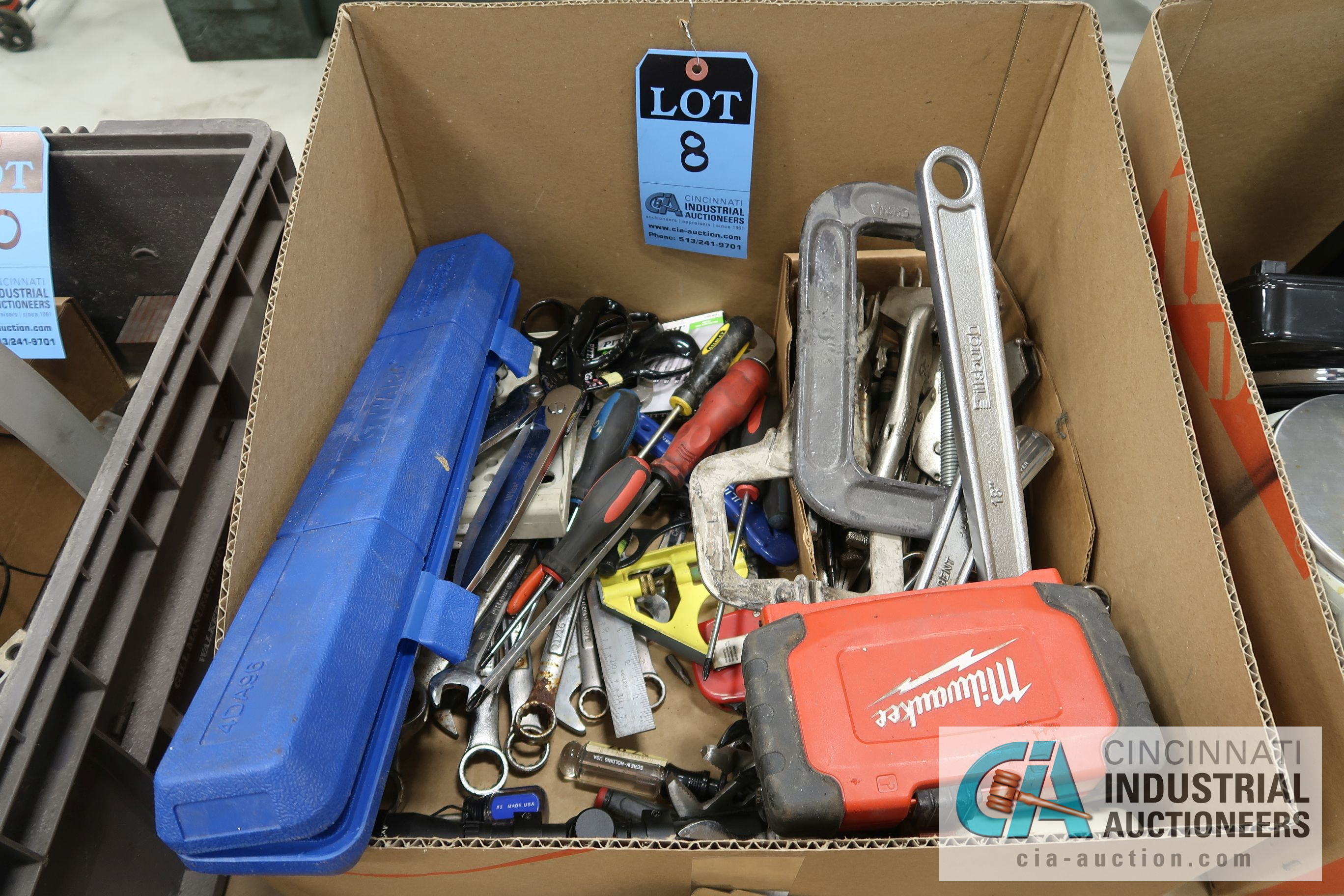 (LOT) MISCELLANEOUS HAND AND MAINTENANCE TOOLS