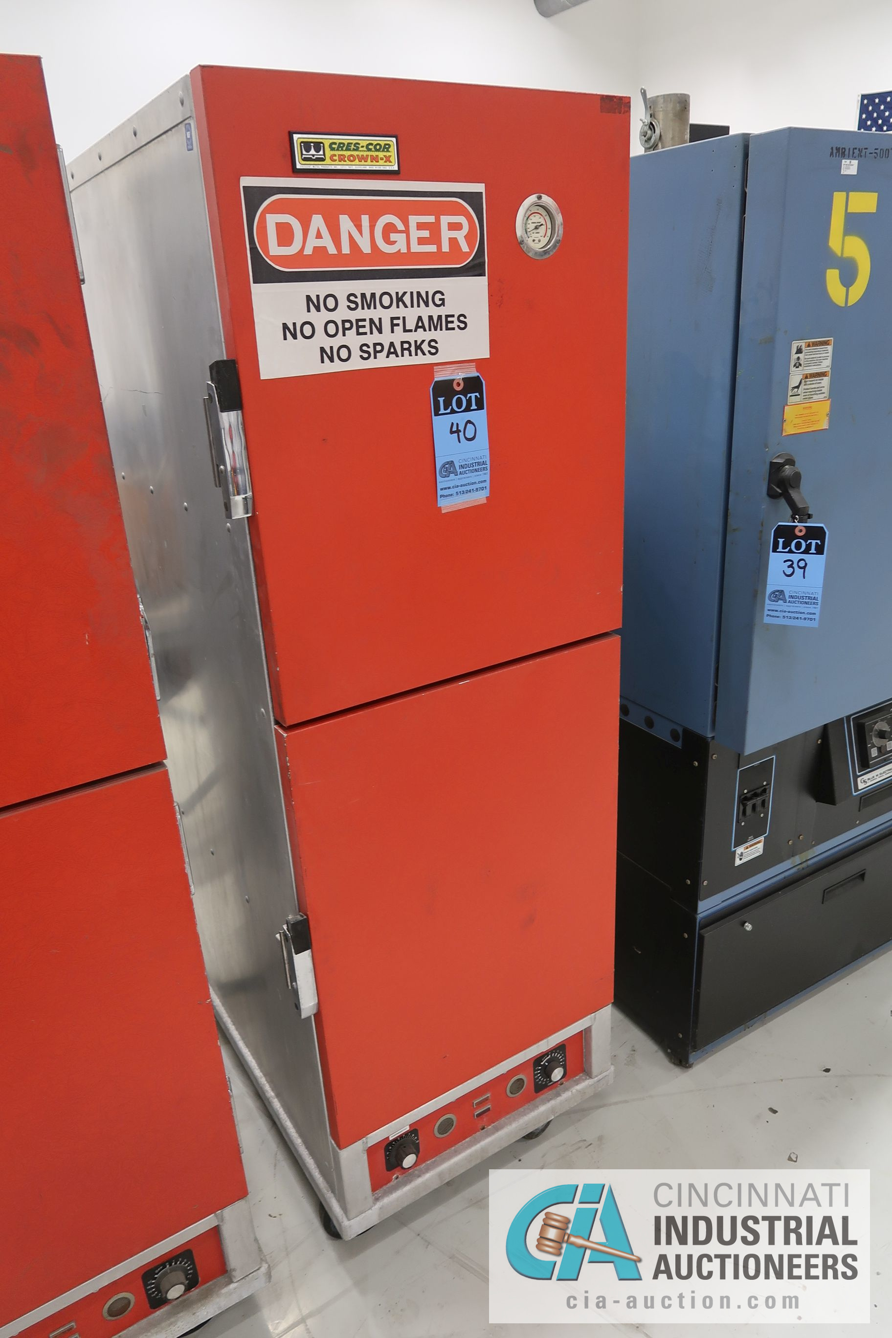 CRES-COR CROWN-X MODEL H-138-1834 TWO-DOOR ELECTRIC HOT CABINETS