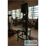 CUSTOM HYDRAULIC PRESS WITH (2) MILWAUKEE UNITS AND STRAINSERT FATIGUE RATED FLAT LOAD CELL