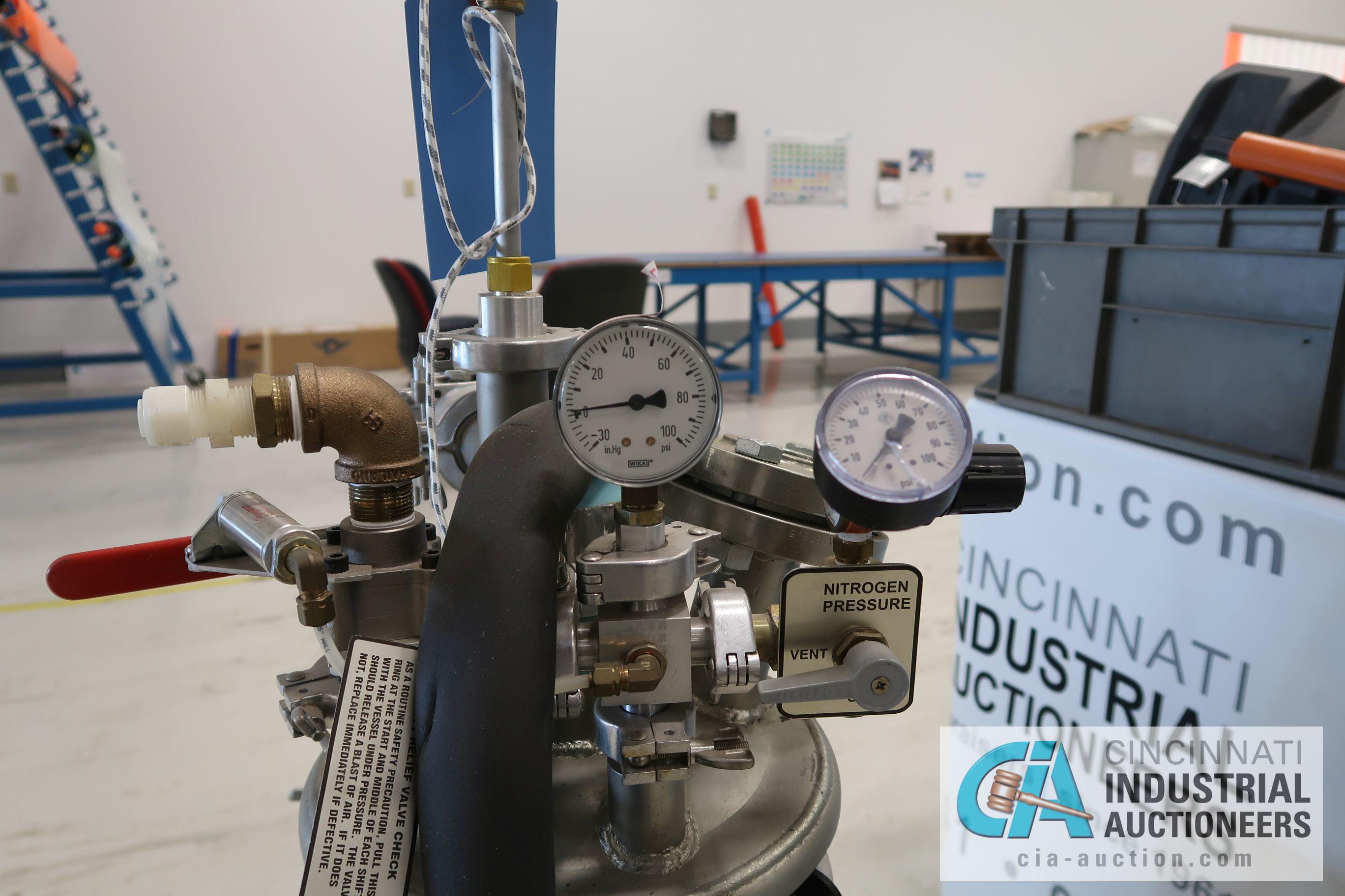 2.5 GALLON APT MODEL NO. 4500 RTM UNIT; S/N T-3110 (1/5/09) - Image 4 of 5