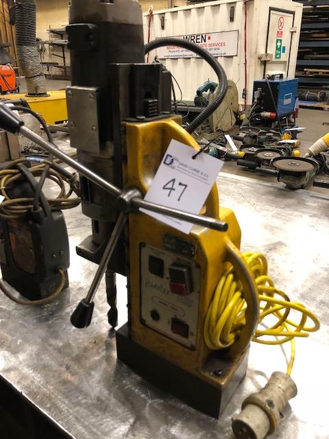 Lot 47 - POWERBOR PB65 electro-magnetic drill stand