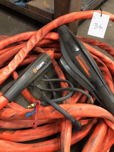 Lot 34 - KEMPPI SUPERSNAKE GT02S, 20m welding subfeeder