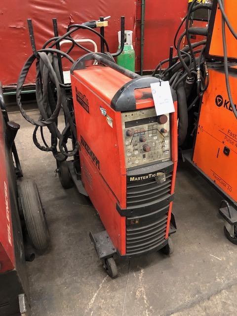 Lot 26 - KEMPPI MASTERTIG AC/DC 2500W, 415v portable TIG welder s/no: 1091309P
