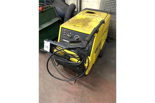 KARCHER HDS 750 portable high pressure washer