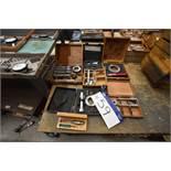 Assorted Inspection Equipment, including bore gaug