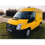 (Reserve met)Ford Transit T260 2.2TD - 2013 13 Reg - 6 Speed - Ply Lined - Shelving/Racking