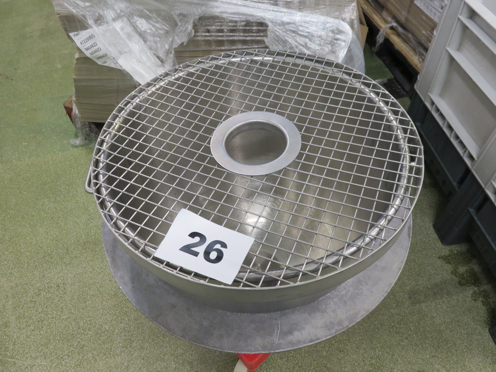 Lot 26 - Mixing bowl for Hobart 140 quart type mixer. LO £15.