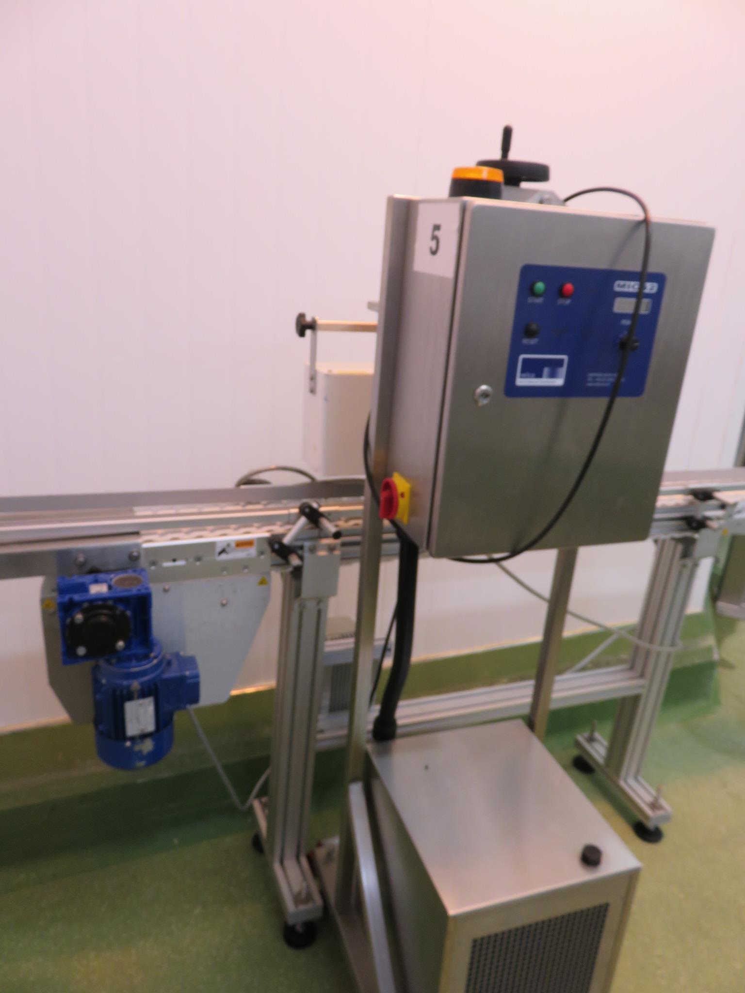 HF Technology induction sealing machine model MICS 2. LO £60. - Image 2 of 5
