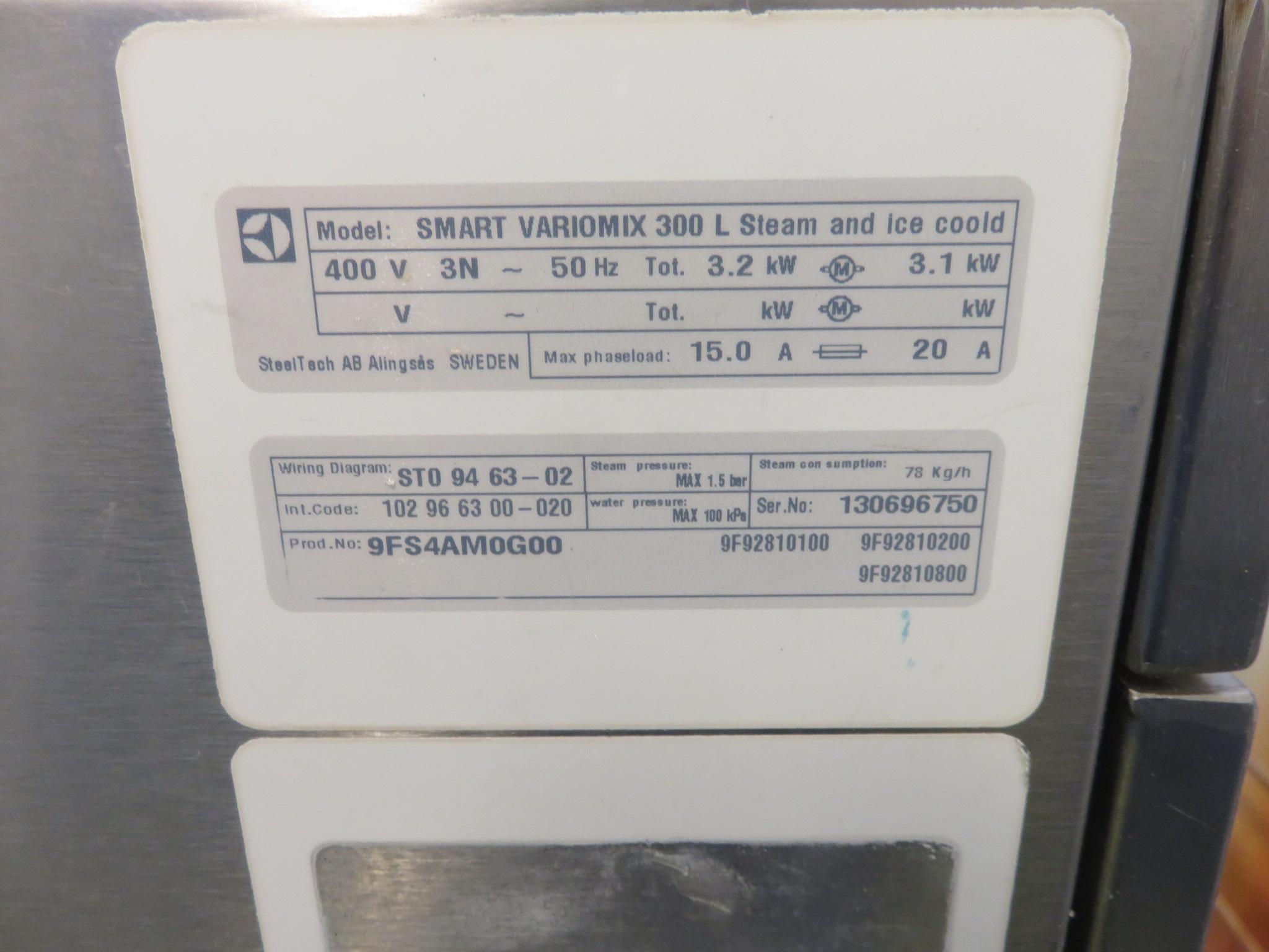 Lot 10 - Electrolux 300 litre cooking vessel. Model Smart Variomix. LO £120.