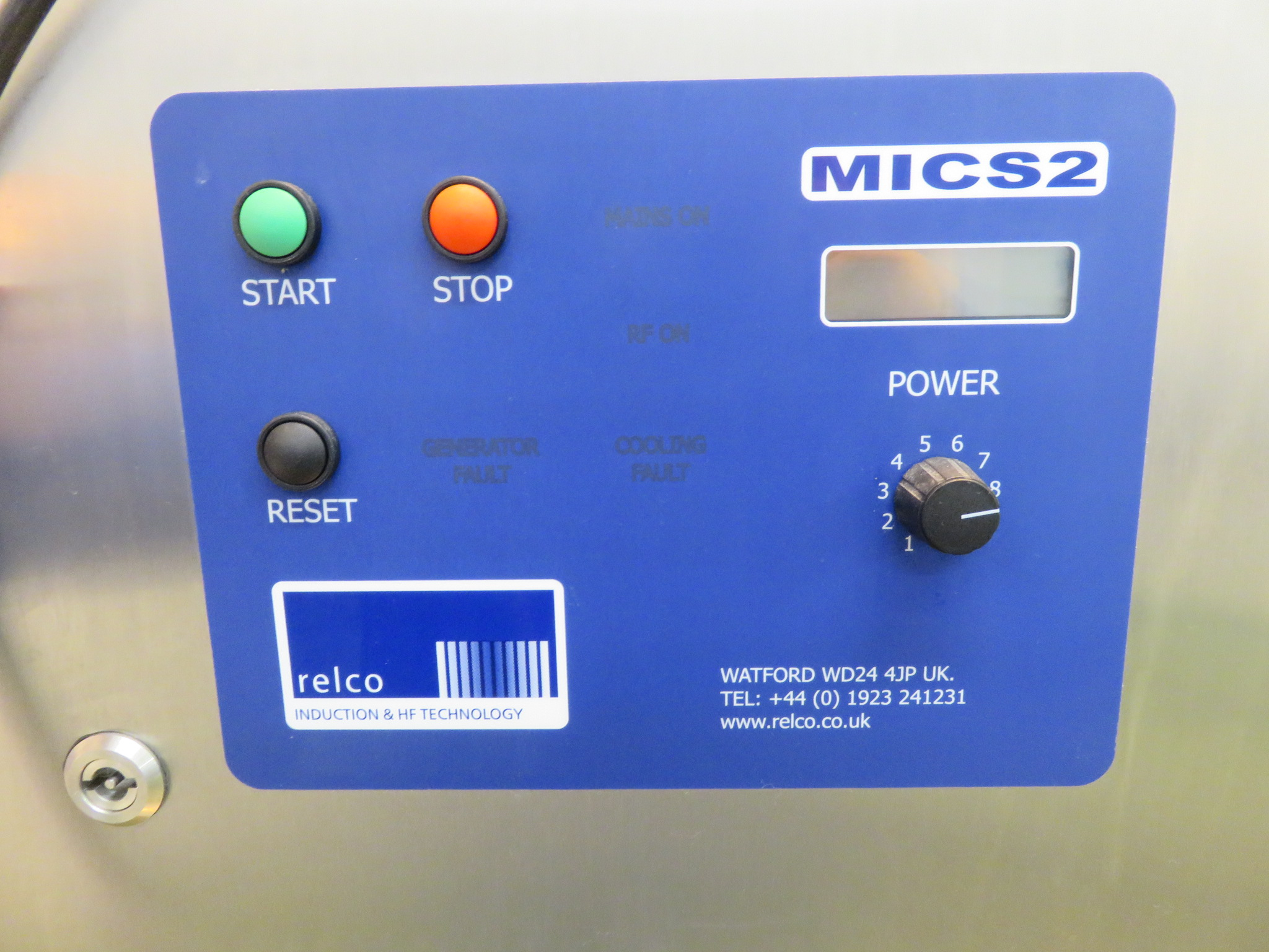 HF Technology induction sealing machine model MICS 2. LO £60. - Image 5 of 5