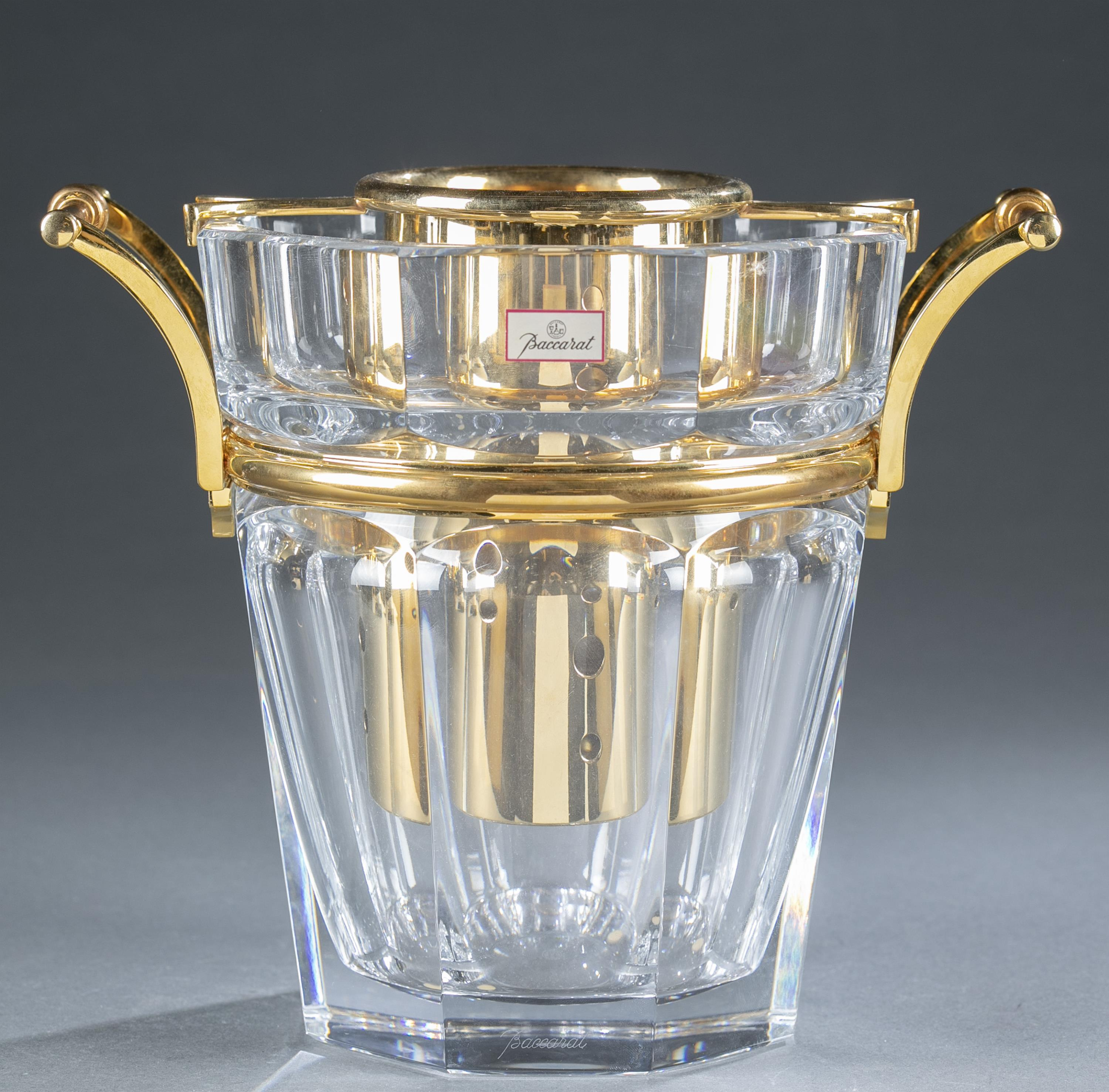 """Baccarat """"Moulin Rouge"""" champagne bucket."""