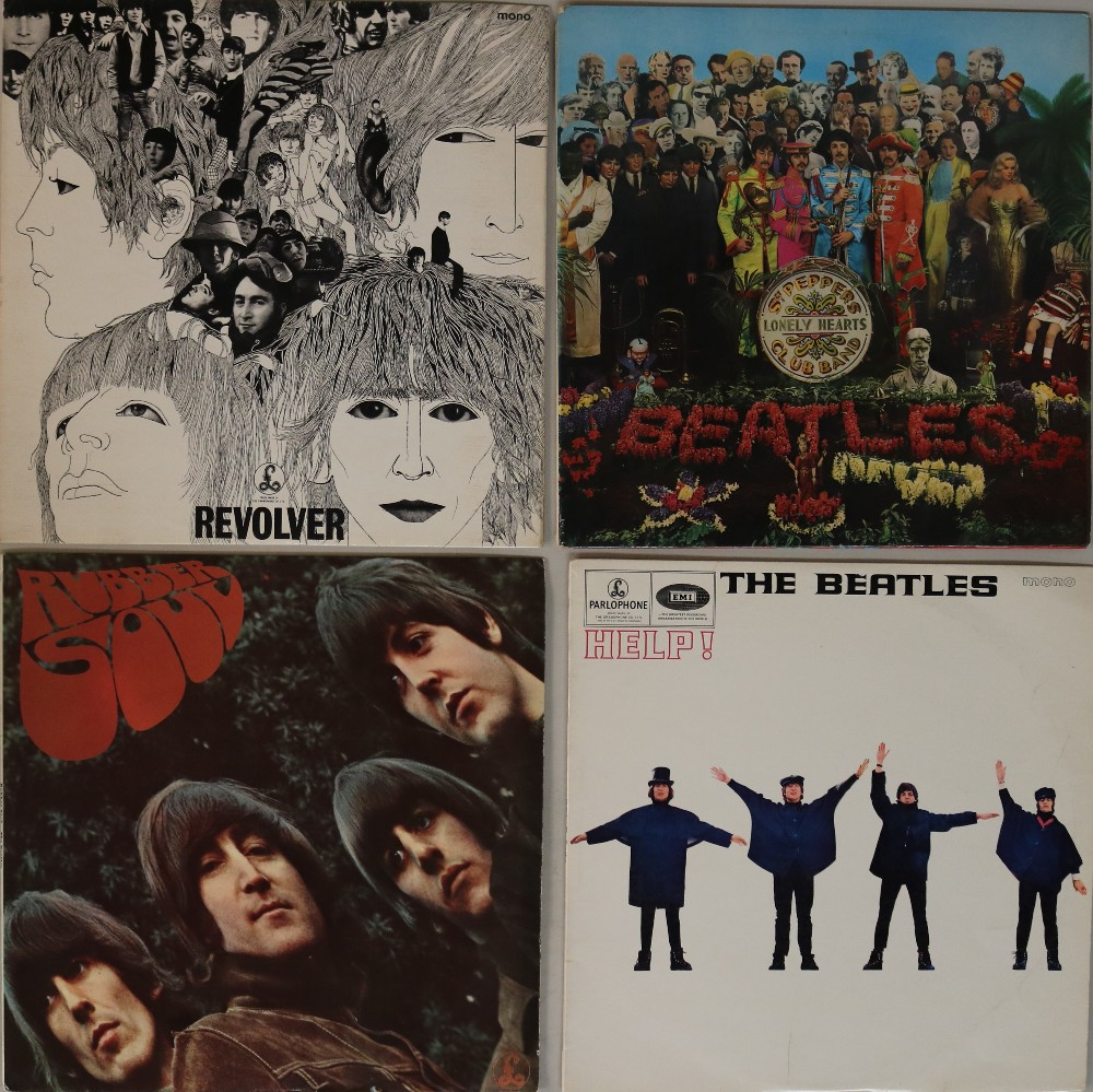 Lot 14 - STUDIO UK LPs. Very neat bundle of 4 x early UK pressing LPs.