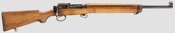 Lot 1754 - Übungsgewehr Lee-Enfield No. 8 Mk I Kal. 22. l.r., Nr. A14988. Nummerngleich. Lauf eingefettet.