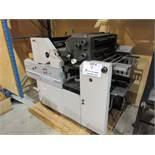"""HAMADA TRUE (2) color offset printing press 14"""" x 17"""" (mod: Superb 47S )"""