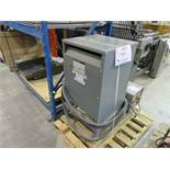 SORGEL (3) phase general purpose transformers (no: 45T79H), 45 kva, class AA, 60 hz, 600 H.V, 208y/