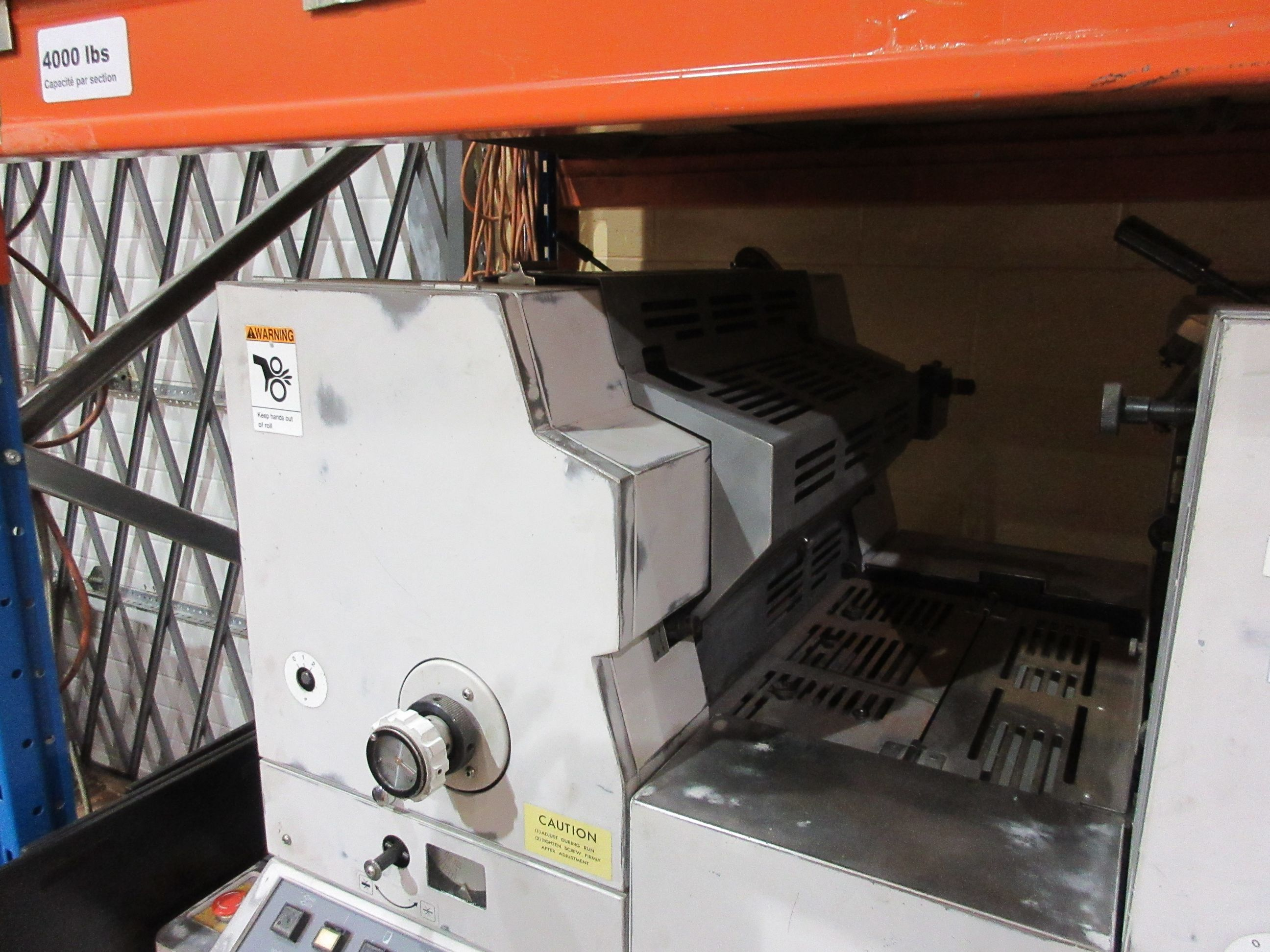 HAMADA TRUE (2) color offset press (mod: H234A) (FOR PARTS ONLY) - Image 3 of 6