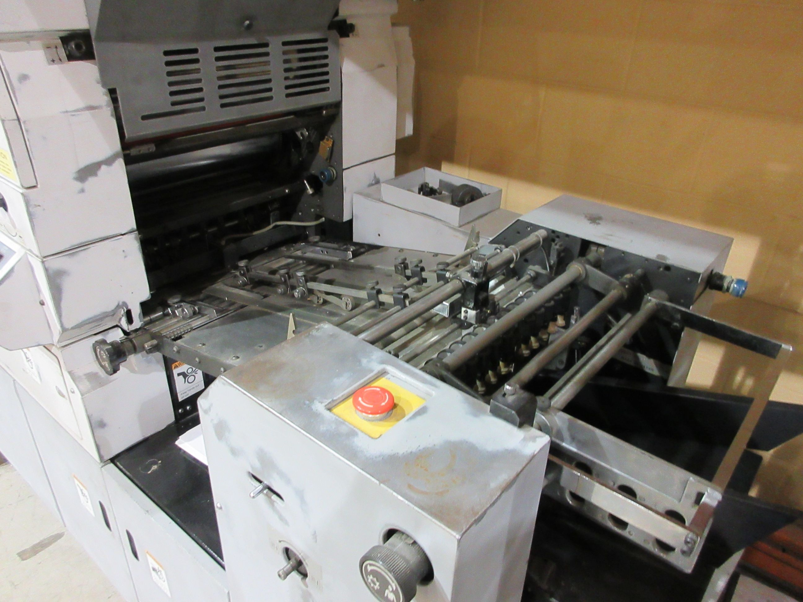 HAMADA TRUE (2) color offset press (mod: H234A) (FOR PARTS ONLY) - Image 2 of 6