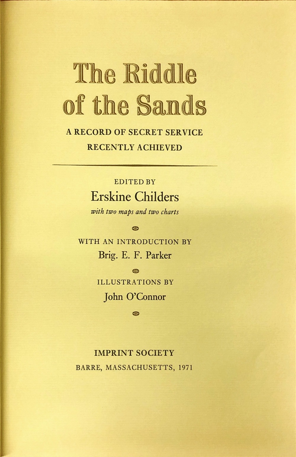Lot 55 - Illustrated Limited Editions Childers (Erskine) The Riddle of the Sands,