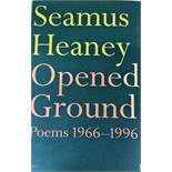 Heaney (Seamus) Opened Ground, Poems 1966 - 1996, L. 1998, First Edn., boards; Electric Light, L.