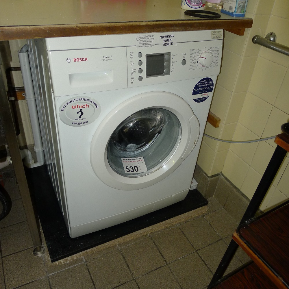 Lot 530 - 1 BOSCH Exxcel 7 1200 Express front loading domestic washing  machine (located