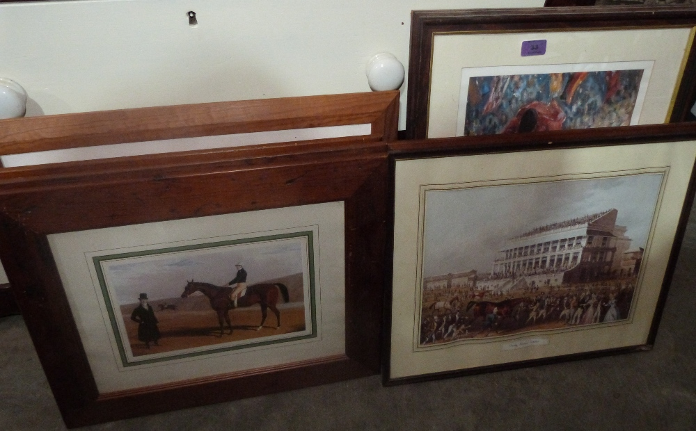 Lot 33 - A collection of equestrian prints