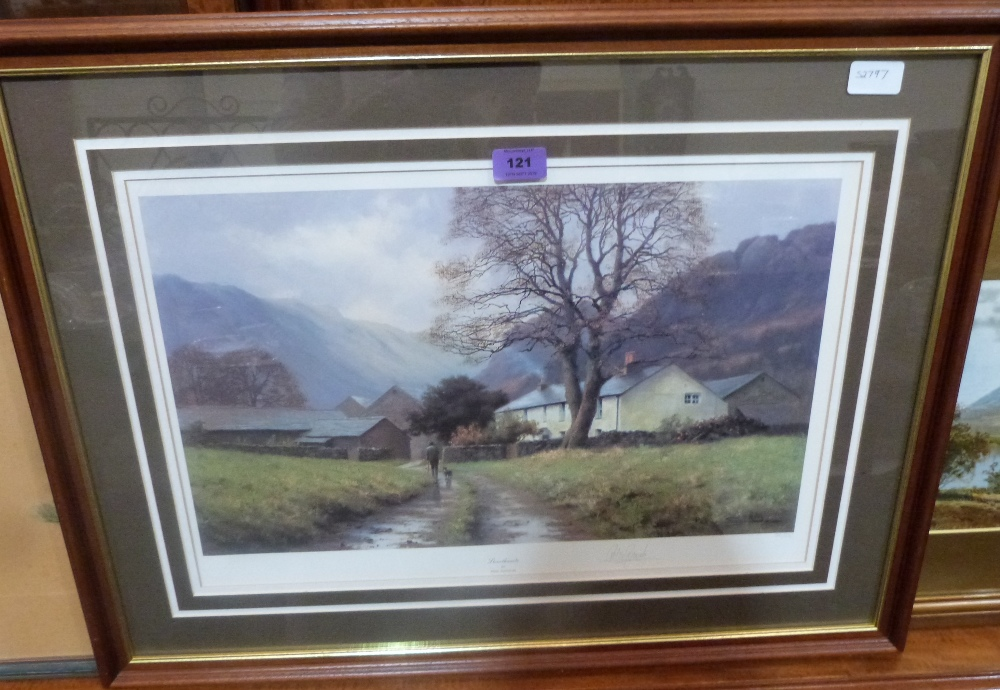 Lot 121 - A limited edition fine art print by Peter Symonds, 'Stonethwaite'. Signed in pencil. 13½' x 20½'