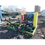 FL Smidth/KREBS MillMax Platform Mounted Pump Skids Model MM100-A43U14163, S/N KM-14167, with 40 HP