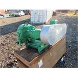 GN Solids Control Centrifugal Pumps Model GNSB4*3C-13J-15, S/N 70701011 (2017), 700 RPM, 15 Kw Motor